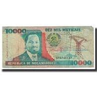 Billet, Mozambique, 10,000 Meticais, 1991, 1991-06-16, KM:137, TB - Mozambique