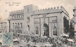 Espagne - N°65157 - VALENCIA - Mercado - Lonja - Carte Pliée, Vendue En L'état - Valencia