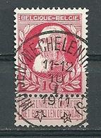74 Gestempeld (sterstempel) MUYSEN (MECHELEN) (MALINES) - COBA 30 Euro - 1905 Thick Beard