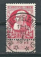 74 Gestempeld (sterstempel) MUYSEN (MECHELEN) (MALINES) - COBA 30 Euro - 1905 Breiter Bart