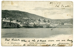 PORTUGAL : POMARAO - J. A. MACHADO, SHIP CHANDLER / ADDRESS - PORTMADOC / PORTHMADOG, NEW STREET - Beja