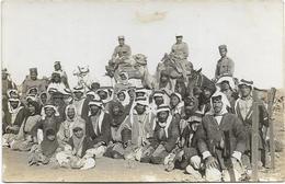 Carte-photo - Campagne Contre Les Druzes (1925/1926) - GHAZALE - Types De Bedouins. Beau Plan. - Guerres - Autres