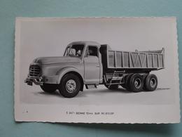 """WILLEME """" 5 347 - Benne 10 M3 Sur RC 615 DP ( Willeme ) Anno 19?? ( Voir Photo Svp ) - Transporter & LKW"""