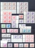 Restant Dienstzegels Type Velghe Papiersoorten MNH Postgaaf ** - Service