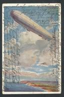 +++ CPA - Aviation - Avion - Dirigeable - Zeppelin  // - Dirigeables