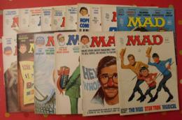 16 N° De MAD De 1976-1981. Jack Richard, Don Martin, David Berg, Jaffee. En Anglais - Sammlungen