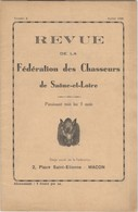 Revue De La Fédération Des Chassuers De Saône Et Loire - Juillet 1936 - Bon état - Livres, BD, Revues