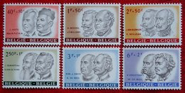 Culture Kultuur Celebrities Beroemde Pers. OBC N° 1176-1181 (Mi 1236-1241) 1961 POSTFRIS MNH ** BELGIE BELGIEN / BELGIUM - Belgium