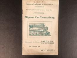 Izegem - Iseghem - Catalogus Migom & Van Nieuwerburg - Izegem
