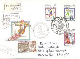 1992 Jeux Olympiques D'Albertville :émission D'URSS Recommandée - Hiver 1992: Albertville