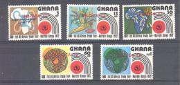 Ghana  Michel #  463 - 67 ** - Ghana (1957-...)