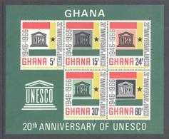 Ghana  Michel #  Block 23 **  Unesco - Ghana (1957-...)