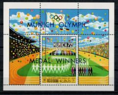 RAS AK KHAIMA    1970    MUNICH  OLYMPIC  MEDAL  WINNERS       1  SHEET     MNH** - Ra's Al-Chaima