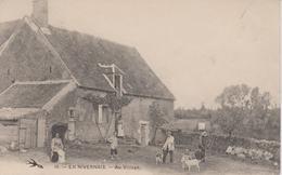 En Nivernais    Au Village - France