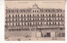 Belgique - FOC - Blankenberghe - Grand Hôtel De L'océan Sur La Digue - Blankenberge