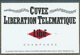 Etiquette CHAMPAGNE - Champagne