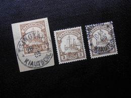 D.R.Mi 5 (Briefstück)/ 5*MLH/5 - Deutsche Kolonien (Kiautschou) 1901 - Mi 7,20 € - Kolonie: Kiautschou