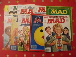 10 N° De MAD De 1982-1983. Jack Richard, Don Martin, David Berg, Jaffee. En Anglais - Livres, BD, Revues