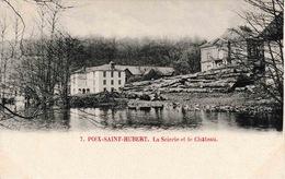 Poix Saint Hubert La Scierie Et Le Château - Saint-Hubert
