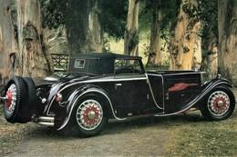 Bucciali TAV8 Cabriolet Par Saoutchik  (1930)  -  Carte Postale Modern - PKW