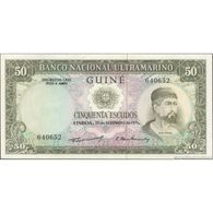 TWN - PORTUGUESE GUINEA 44a4 - 50 Escudos 17.12.1971 Signatures: Machado & Fernandes UNC - Altri – Africa