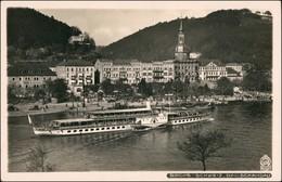 Ansichtskarte Bad Schandau Elbdampfer - Stadt 1931 Walter Hahn:3370 - Bad Schandau