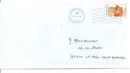 N°4147 SEUL SUR LETTRE 2008 - 1961-....