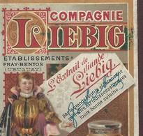 +++ Superbe CALENDRIER De Poche LIEBIG 1890 Pour Ménage - Publicité - Recettes Mme Durandeau - Chromo - 56 Pages // - Calendars