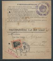 Pokstofaanvraag Van Den Staat - Guerre 14-18