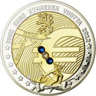 Finlande, Médaille, 10 Ans De L'Euro, Politics, Society, War, 2012, FDC, Copper - Autres