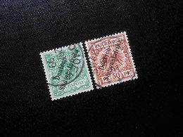 D.R. Mi 6/10 - 5/50Pf  Deutsche Kolonien (Deutsch-Südwestafrika) 1898 - Mi 19,00 € - Colony: German South West Africa