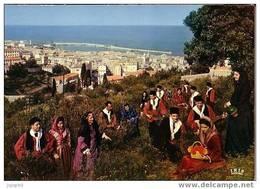 Bastia - Vue Prise De Sainte Lucie Costume Du Groupe Folklorique De Bastia - Bastia