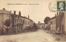 CPA 54 CIREY SUR VEZOUZE RUE DE LA PAIX - Cirey Sur Vezouze