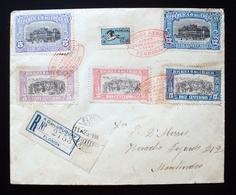 1925 URUGUAY V16B Recommended FLIGHT VUELO FLORIDA-MONTEVIDEO Independence 25 AGOSTO DESEMBARCO 33 Bird Heron - Uruguay