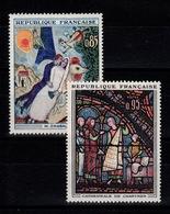 YV 1398 & 1399 N** Tableaux 1963 Cote 2,80 Euros - Neufs
