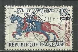 FRANCE Oblitéré 1172 Tapisserie De La Reine Mathilde à Bayeux Cheval Chevaux Horse - Gebraucht