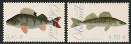 2008 Aland Islands, Fishes Set MNH. - Ålandinseln
