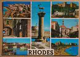 RODOS - Rodi / Rhodes - Multiview -  Greece -  Vg - Grecia