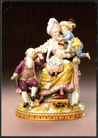 D4370 - Meissen Meissner Porzellan - Figur Figuerengruppe Die Gute Mutter - Verlag Brück & Sohn - Arts