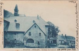 DAV : Isère :  Chalais , Chaleis  1941 : La  Cour  Du  Couvent - Sonstige Gemeinden