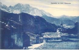 ITALIA Italie ( Piemonte - Oulx - Région De TORINO Turin ) SAVOULX : Panorama - CPA Village - - Andere Steden