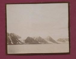 210320A - ANTARCTIQUE PHOTO 1902 Côtes Du SPITZBERG 79° Lat Nord - à Priori Vue Prise Du Bateau OIHONNA - Schiffe