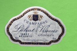 "Etiquette Du Champagne   ""   An 2000    LIEBART-VISNEUX - Champagne"