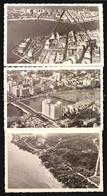 Recife Vista Aerea 3x Postcards   Brasil Ca1930  - Cartao Postal Foto Fotografica W5_1405 - Recife