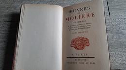 Les Précieuses Ridicules Sganarelle Dom Garcie De Navarre L'école Des Maris Le Facheux  De Versailles Molière Gravures - Théâtre