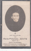 Maria Philomena Bovyn (1841-1923) - Images Religieuses