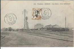 VIET-NAM : Tonkin, Hanoi, La Gare - Vietnam