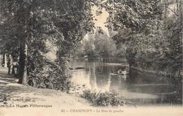 94 - Série La Marne Pittoresque  N° 43  Champigny -  Le Bras De Gauche  - Canotage , Promeneurs - Champigny Sur Marne