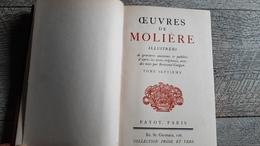 Psyché Les Fourberies De Scapin La Comtesse D'escarbagnas Les Femmes Savantes Le Malade Imaginaire Molière Gravures - Théâtre