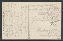 Postkaart Verstuurd Uit Reserve Lazarett Malmedy - Esercito Tedesco